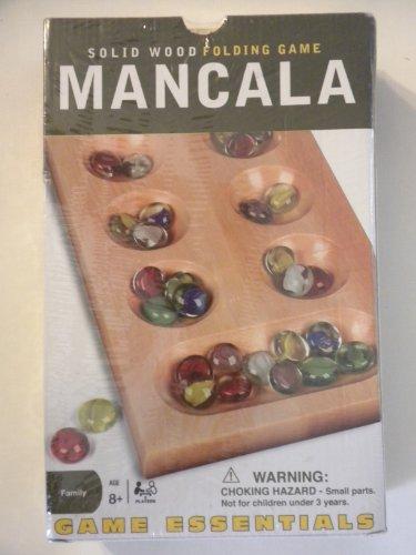 Mancala - Solid Wood Folding Game
