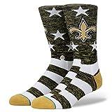 Stance M558C18SAB Men's Saints Banner Sock
