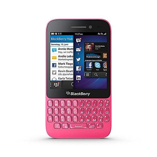 BlackBerry Q5 Factory Unlocked Pink SQR100-2