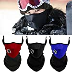 CHAOM 3PCS Ski Face Mask Winter Outdoor Windproof Anti Cold Sports Mask Fit Motorcycles, Bicycle, Skiing, Running,Mountain Climbing