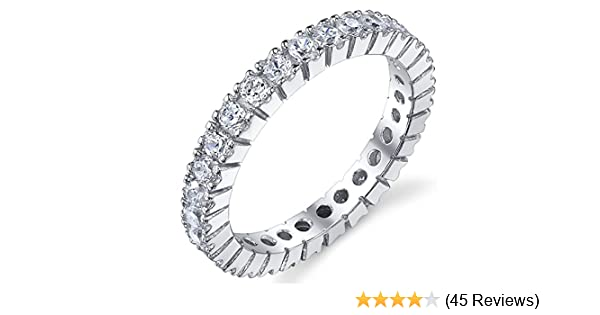 Gold Tone Eternity Infinity Knot Ring Nouveau .925 Sterling Silver Band Taille 4-12