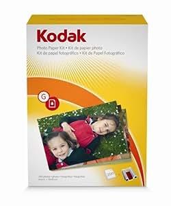 Amazon Kodak G 200 EasyShare Printer Dock Color Cartridge Amp Photo Paper Refill Kit By Kodak