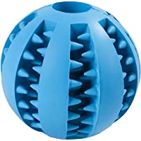 Goolsky Dog Toy Ball Durable Mint-scented Chew Ball Toys Pet Food Dispensing Treat Ball Educational Food Feeding Ball for Puppy Cats
