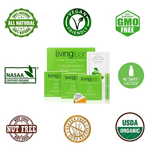 Living Lean Weight Loss Cleanse Kit for 15 Days - Natural Organic - Alkaline Your Body for Sustainable Weight Loss & Digestion Support-Colon, Kidney, Liver & Bowel Cleanser - High Strength by Living Lean (Image #4)