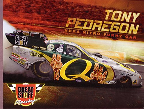 (TONY PEDREGON NHRA HERO CARD NITRO FUNNY CAR 2007 VF)