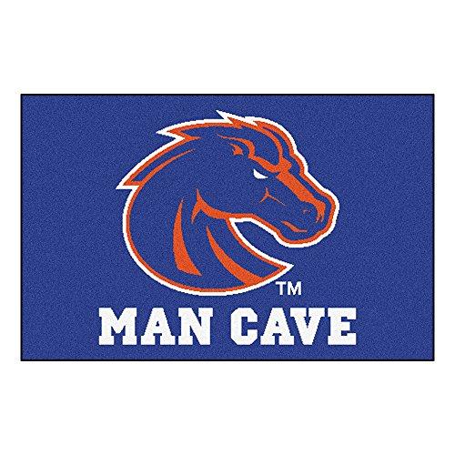 FANMATS 14532 Boise State University Nylon Universal Man Cave Starter Rug