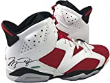 Michael Jordan Signed Autographed Air Jordan 6 Shoe Upper Deck Certifiedated Uas23863 - Certified Certified