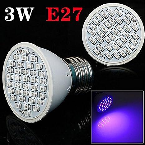 [Envio Gratis] 3 W E27 jardín planta crecimiento luz LED Bombilla efecto invernadero planta plántula ...