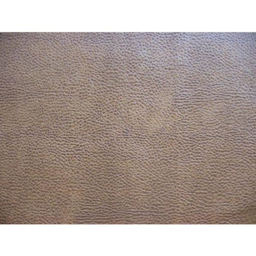 (Softline Taupe Leather Look Futon Cover Full Size, Proudly Made in USA )