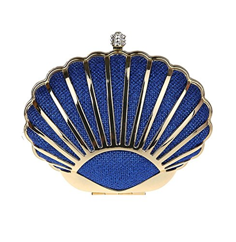 Blue Luxury Mini Fashion Party Dunland Handbag Evening Womens Purse Wedding Shell Clutch Pq7Onx4w1