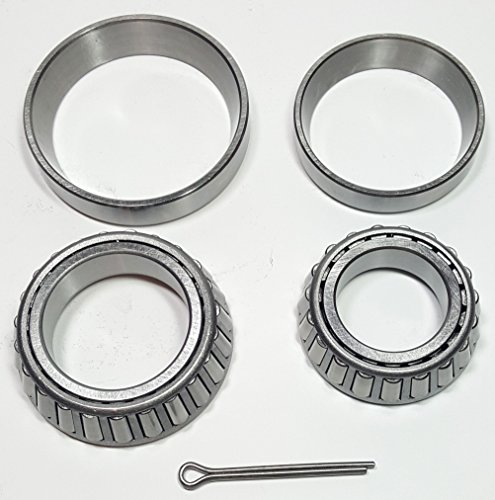 Rockwell American Trailer Axle Bearing Kit   Fits Most 3 500 Lb Axles