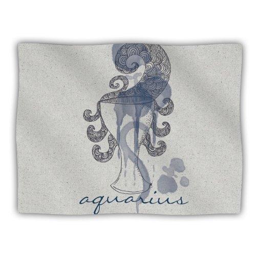 Kess InHouse Belinda Gillies Aquarius Pet Blanket, 40 by 30-Inch