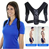 Back Posture Corrector Brace For Women Men And Kids,It Can Be Adjusted Freely To Relieve The Pain In Shoulder And Back