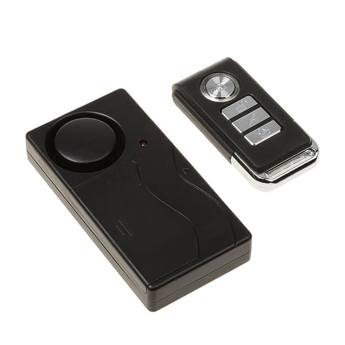 Control Remoto Inalámbrico Alarma De Vibración Detector De ...