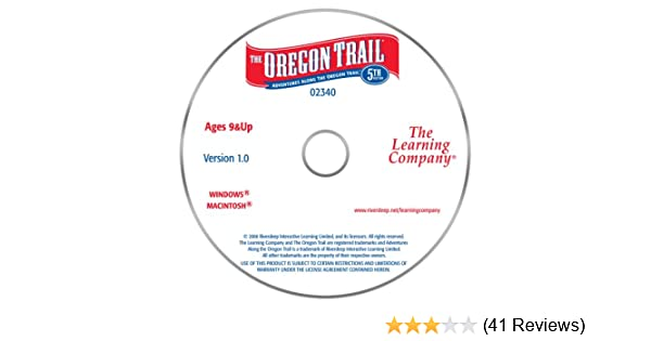 Amazon. Com: pc treasures the oregon trail, 5th edition.