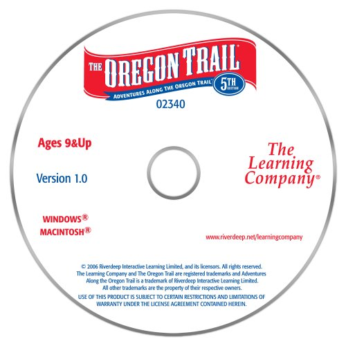 Oregon trail 3rd ed pioneer adventures +1clk windows 10 8 7 vista.