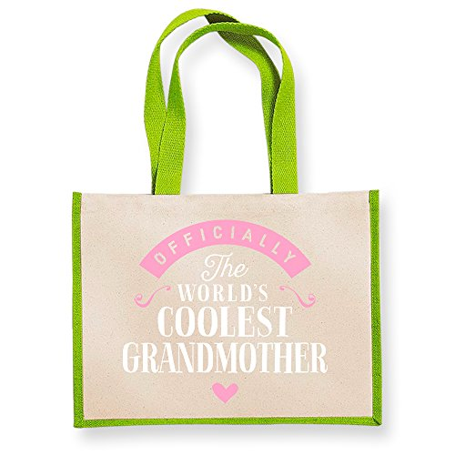 Bag Grandmother Grandmother Gifts Gift Granddaughter Gift Grandmother Funny Grandmother From Grandmother Gifts Great Green Grandmother Bag Personalised Grandmother Birthday Present Grandmother Gifts vx7Br4qv
