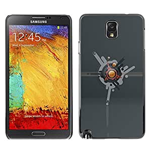 YiPhone /// Prima de resorte delgada de la cubierta del caso de Shell Armor - Abstract - Samsung Galaxy Note 3 N9000 N9002 N9005
