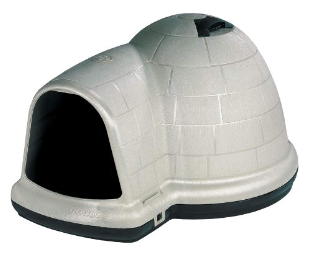 Petmate Indigo Dog House All-Weather Protection Taupe/Black 3 sizes Available by Petmate