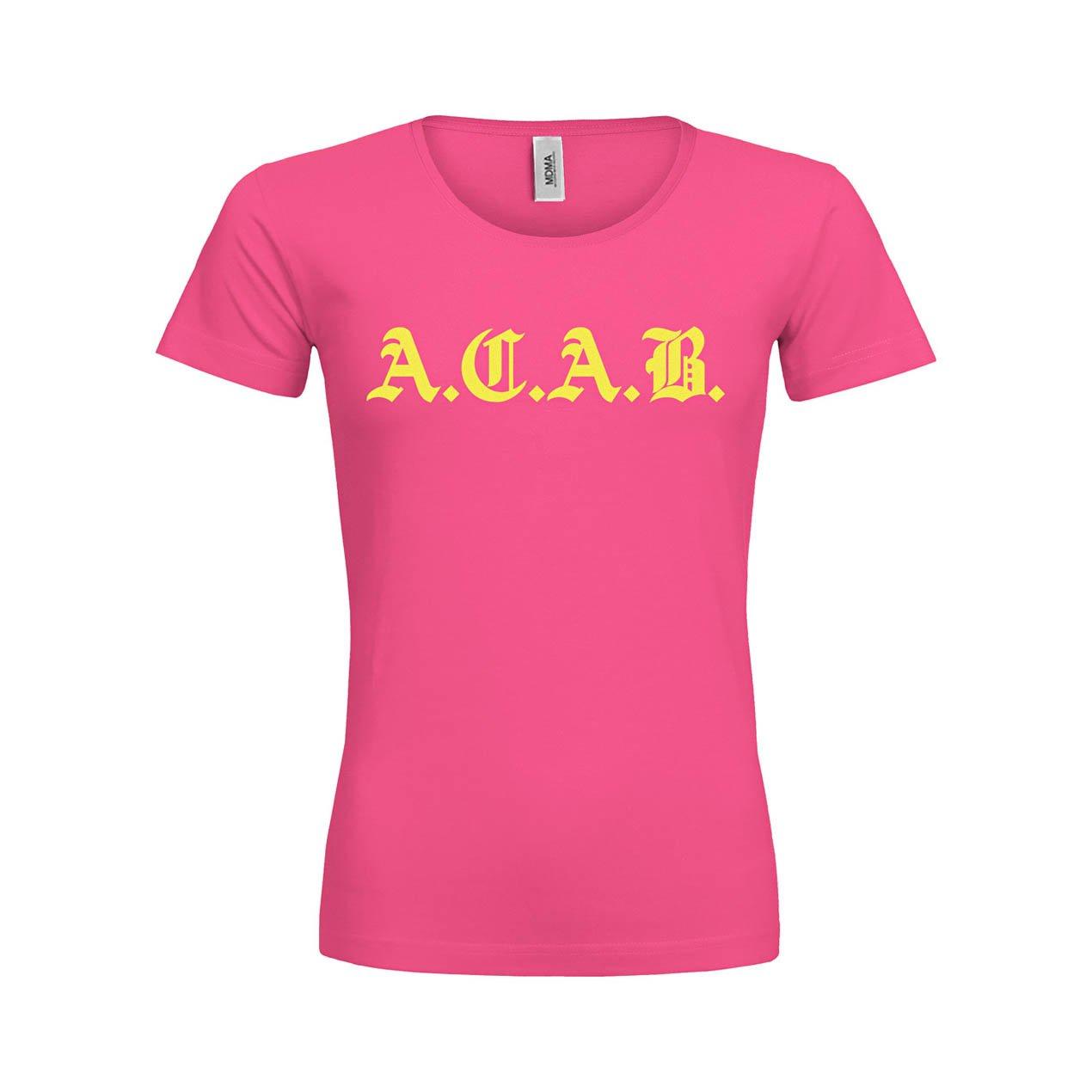 709ea670b97319 MerchanDise Market Association UG MDMA Frauen Premium T-Shirt A.C.A.B M  MDMA mdma-ftp00313-93 Textil ...