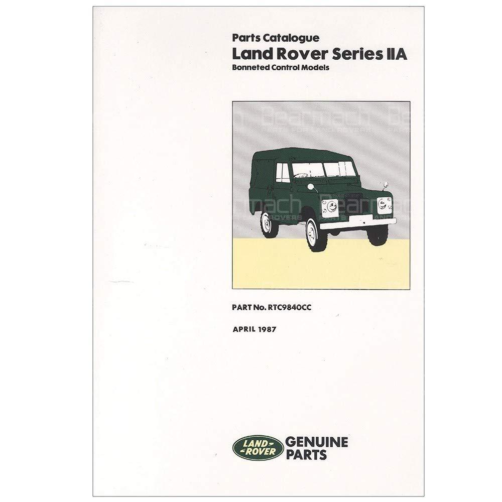 BEARMACH OEM - Parts Catalogue - Series 2a Part# RTC9840C
