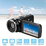 HD Digital Video Recorder Camera Camcorder,24MP 1080P Full HD Digital Video Camera 18X Zoom with Remote Control