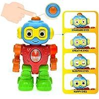 Robot Que Habla - Juguetes Bebe 9 Meses En Adelante - 1 Año Niño / Niña Unisex . Juguete Educativo Para Aprender La Robótica Y La Electrónica . Juego Aprendizaje Interactivo . Certificado 6 Meses