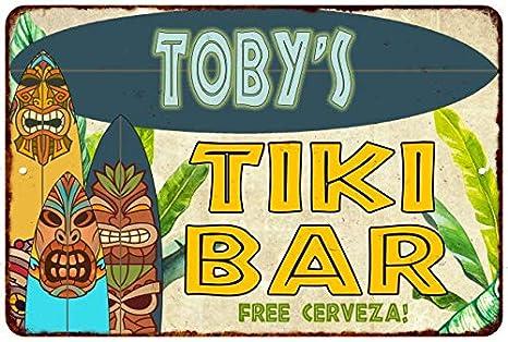 Amazon.com: Chico Creek Signs Tobys Tiki BAR Island ...