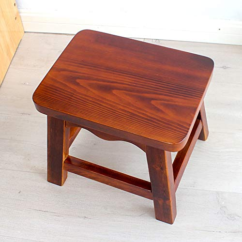 Stool - Shoe Bench, Living Room Solid Wood Sofa Bench, Household Coffee Table Stool/Small Square Stool by StoolStool (Image #3)