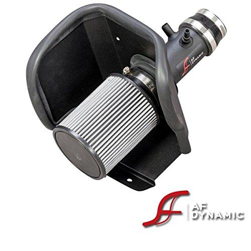 R&L Racing AF Dynamic Black Air Filter Intake Systems for 2013-2014 Dodge Dart 1.4L Turbo + Heat Shield
