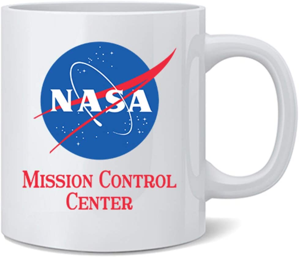 Poster Foundry NASA Approved Mission Control Center Office Astronomy Space Retro Classic Cool Ceramic Coffee Mug Tea Cup Fun Novelty Gift 12 oz