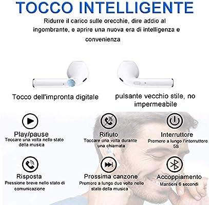 Auriculares Bluetooth, Auriculares inalámbricos 3D estéreo HD ...