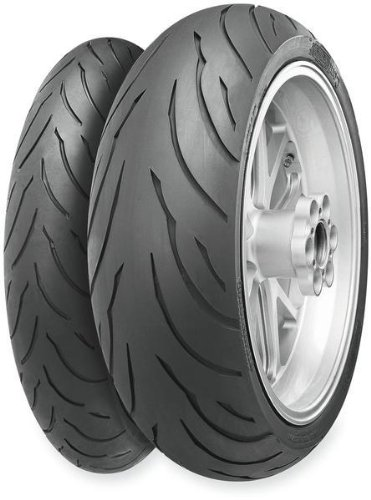 Continental Conti Motion Sport Touring Tire - Rear - 180/55ZR-17 , Position: Rear, Tire Type: Street, Tire Construction: Radial, Tire Application: Sport, Load Rating: 73, Speed Rating: (W), Tire Size: 180/55-17, Rim Size: 17 02440350000