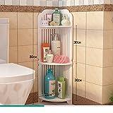 Bathroom racks/bathroom corner floor stand/Delta multi-shelf/Bathroom Bathroom small storage rack-M
