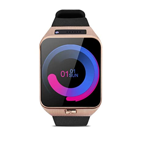 Amazon.com: Lamptti Waterproof Smart Watch for Android iOS ...