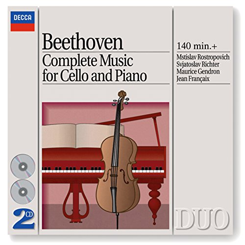 Rostropovich Cello (Beethoven: Complete Music for Cello and Piano (2 CDs))