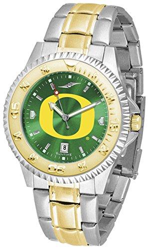 (Oregon Ducks Competitor Two-Tone AnoChrome Men's Watch )