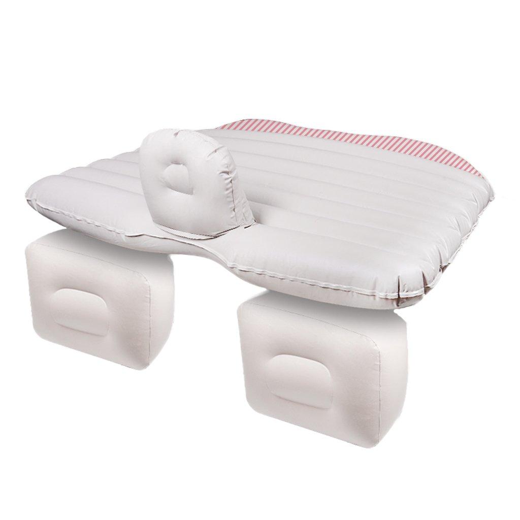 Ye Auto Matratze Auto Luft Bett Multifunktionale Reise Camping Auto Hinten Sitz Aufblasbare Matratze Für Reise und Schlaf Rest (Luftbett × 1 Kissen × 2 Luftpumpe × 1)