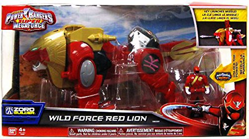 Power Rangers Super Megaforce - Wild Force Red Lion