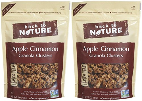 Back to Nature Granola Clusters - Apple Cinnamon - 11 oz - 2 Pack by Back to Nature
