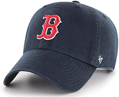 buy best famous brand quite nice Amazon.com : '47 Boston Red Sox Brand Clean Up Adjustable Hat ...