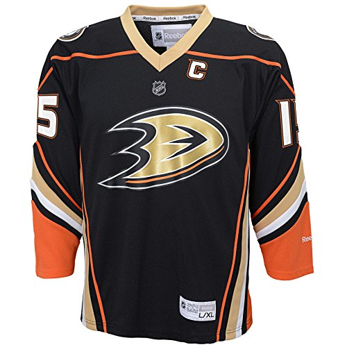 NHL Anaheim Ducks Boys Team Replica Player Jersey, Large/X-Large, Black