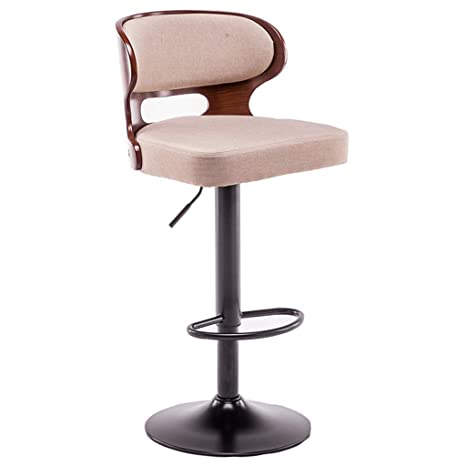 Amazing Amazon Com Bar Stools Adjustable Height Leather Modern Machost Co Dining Chair Design Ideas Machostcouk