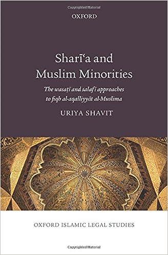 Amazon.com: Sharia and Muslim Minorities: The wasati and ...