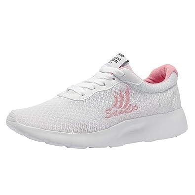 ec51d615dc6 Innerternet Baskets Respirantes Maille Femme Mode Chaussures de Sports  Course Sneakers athlétique Plates Fitness LéGèRes Outdoor