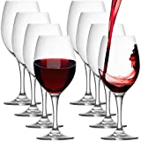 Stolzle (Set of 8) Adela Lead-Free Crystal 20oz Red Wine Glasses Set Germany All-Purpose