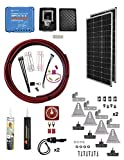 AM Solar 99-VT0152x98 Complete 15 Amp Solar Charging Power System DIY Kit with 2x 98 Watt Zamp Solar Panels