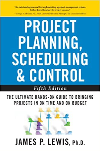 Amazon com: Project Planning, Scheduling, and Control: The