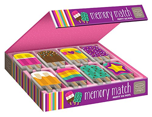 Bendon Kathy Ireland Memory Match- Pretty Popsicle ()