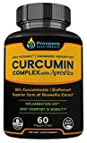 Cheap Prospera Curcumin Complex. Higher Potency, Optimized Absorption. Pure Turmeric Extract + AprèsFlex®, Superior Boswellia. Shoulder & Joint Pain, Plantar Fasciitis. 60 Count. 2-Month Supply